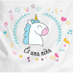Body unicornio niña