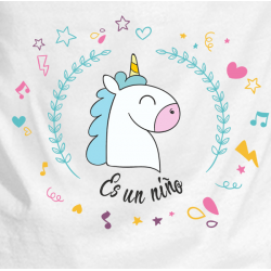 Body unicornio niño